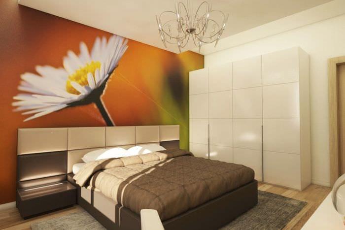 спальня 10 кв м с тумбочками