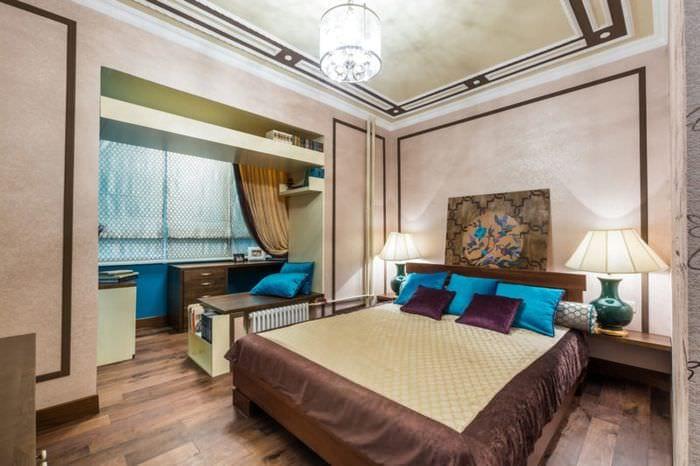 интерьер спальни 16 кв м