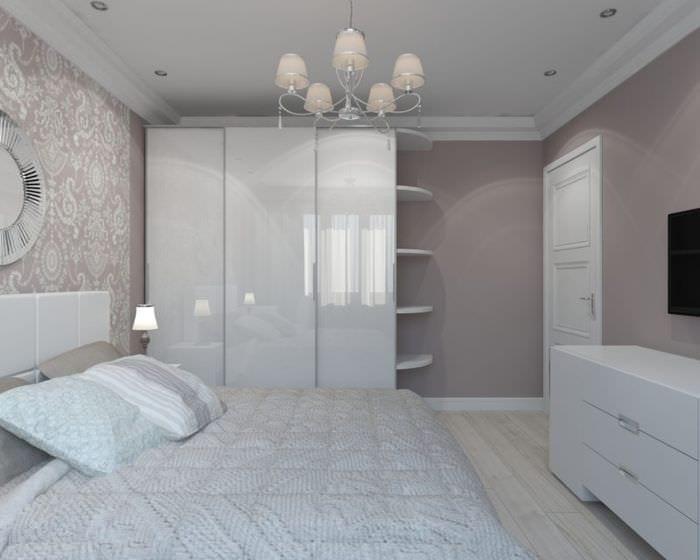 минимализм в спальне 15 кв м