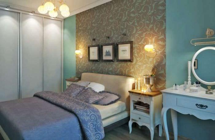 спальня с будуаром в хрущевке