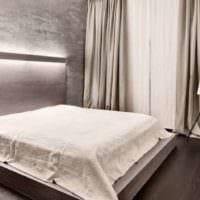 спальня в хрущевке современный интерьер
