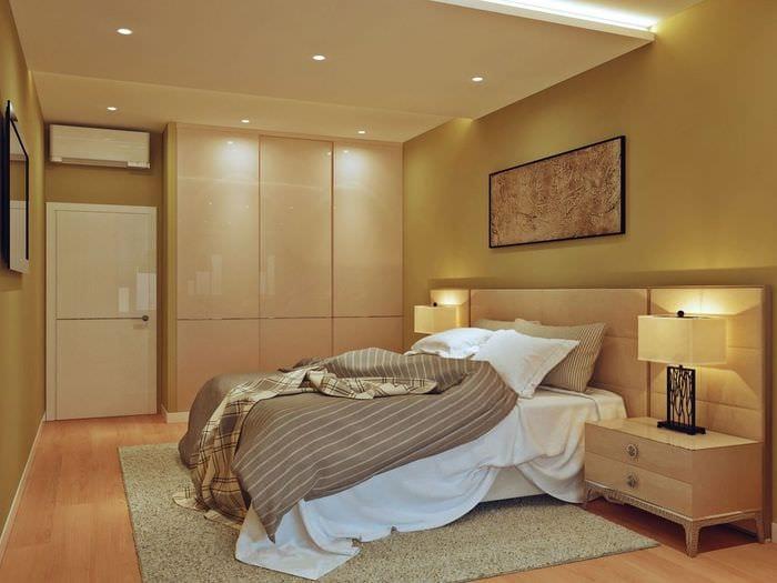 спальня со шкафом купе