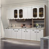 белый гарнитур кухня