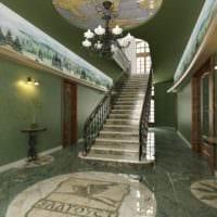 продуманный дизайн лестницы
