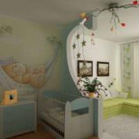 детская в спальной комнате дизайн идеи