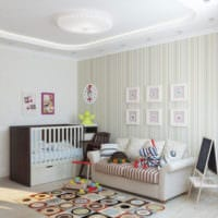 детская в спальной комнате фото дизайн