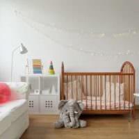 детская в спальной комнате фото идеи