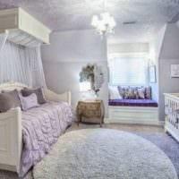 детская в спальной комнате идеи интерьер