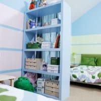 детская в спальной комнате интерьер идеи