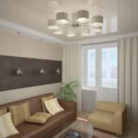 дизайн двухкомнатной квартиры интерьер фото