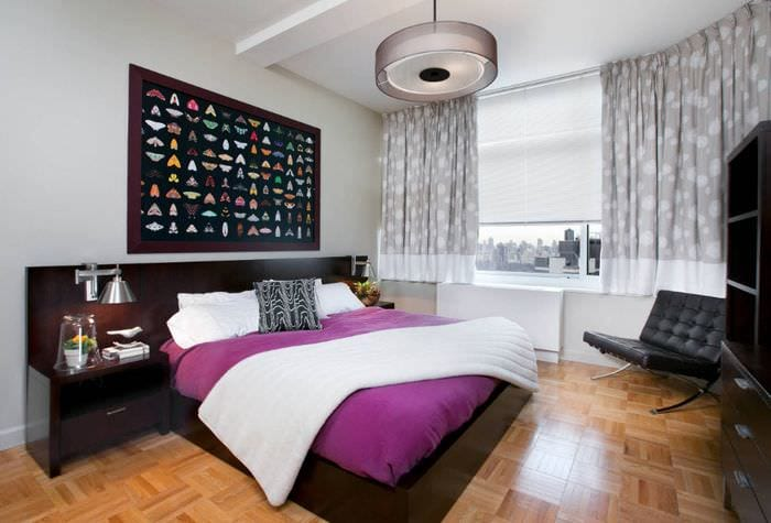 идеи дизайна спальни 16 кв м