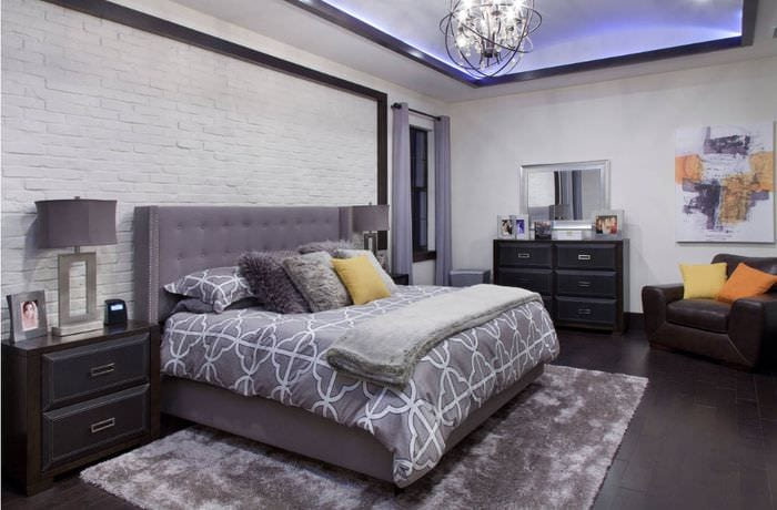 мебель в спальне 16 кв м