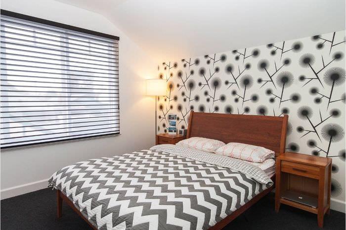 обои в спальне 16 кв м