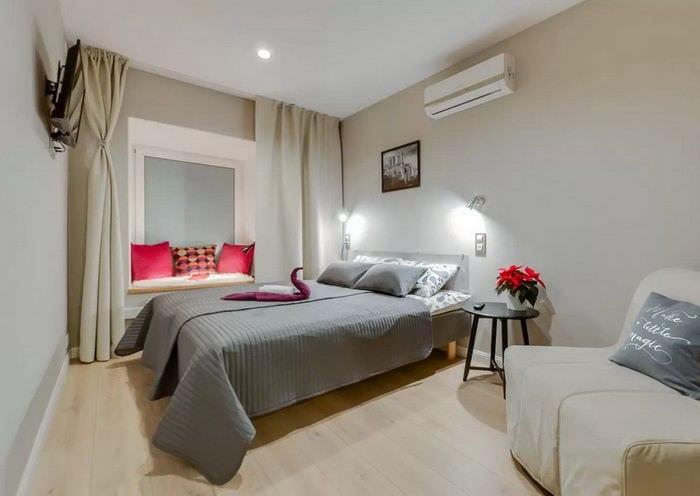 фото спальни 10 кв м