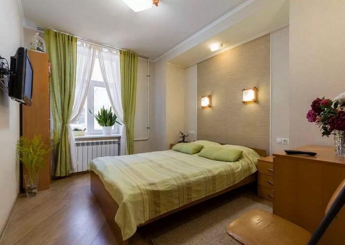 освещение в спальне 10 кв м