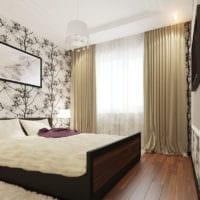 дизайн спальни 10 кв метров фото интерьер