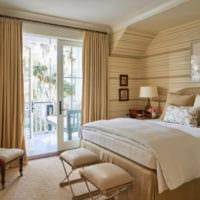 дизайн спальни 10 кв метров фото варианты