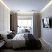дизайн спальни 10 кв метров интерьер фото