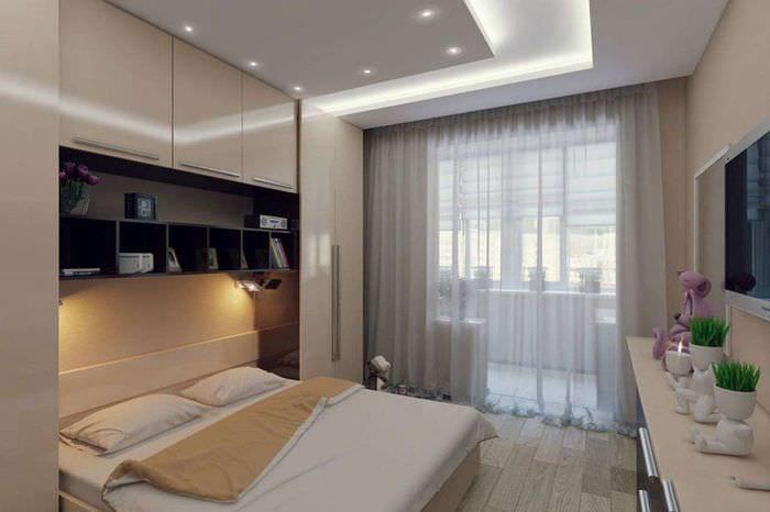 мебель в спальне 14 кв м