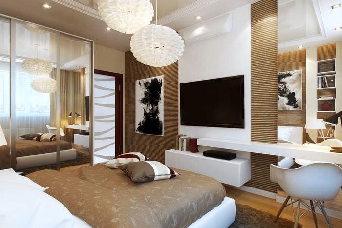 оформление спальни 14 кв м
