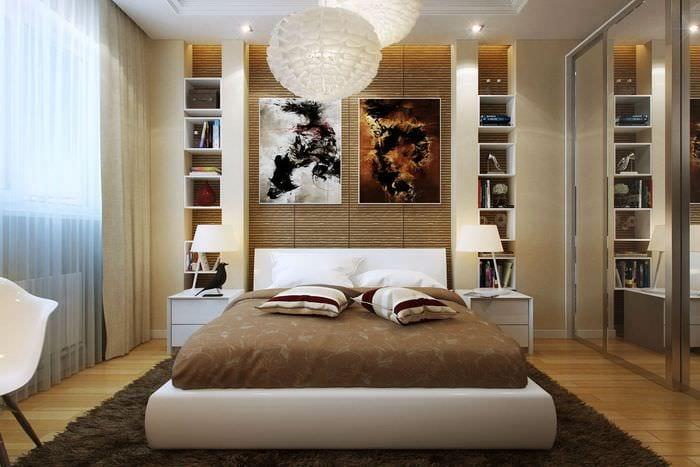 выбор кровати для спальни