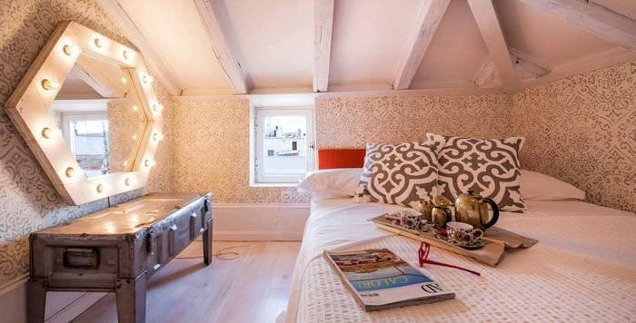 цветовое оформление спальни 9 кв м