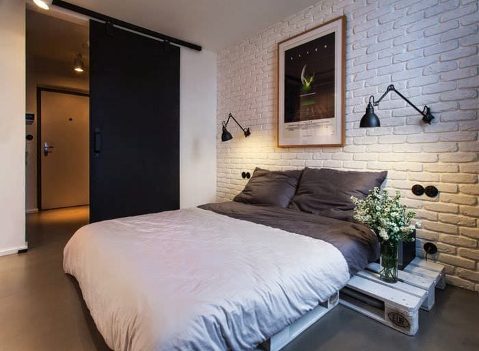 Дизайн спальни в хрущевке - 75 вариантов современных интерьеров