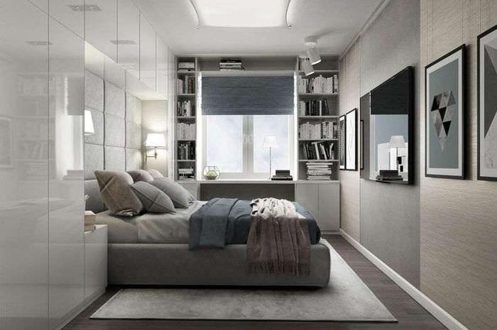 спальня в квартире хрущевке