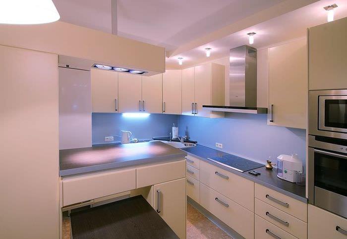 идеи дизайна светлой кухни