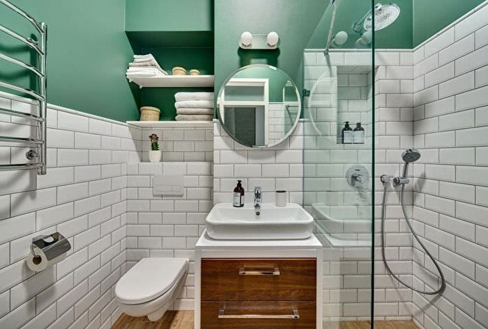 идеи дизайна ванной 4 кв м