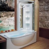 дизайн ванной 6 кв м с душевой кабинкой