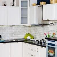 дизайн светлой кухни фото примеры