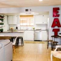 дизайн светлой кухни идеи фото