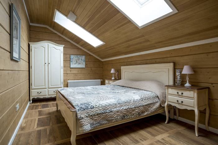естественное освещение в спальне