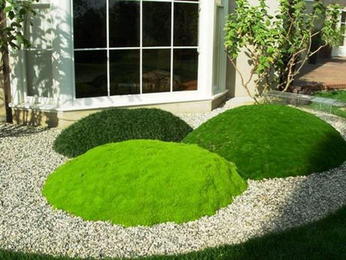геопластика в саду