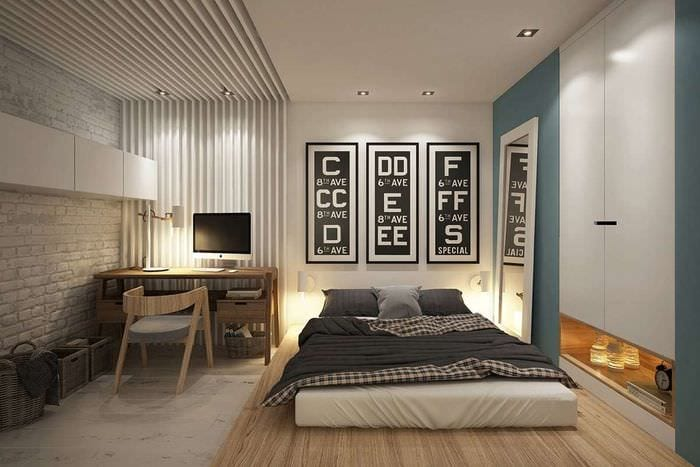 освещение в спальне кабинете