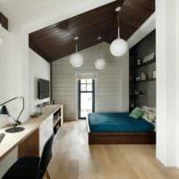 кабинет спальня дизайн интерьер