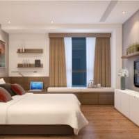 кабинет спальня дизайн интерьера