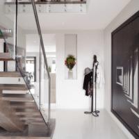 лестница на второй этаж дизайн