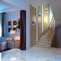 лестница в прихожей дизайн