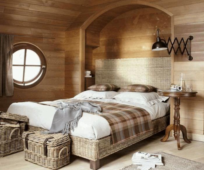 Мебель для деревянного дома фото