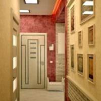 прихожая в квартире в панельном доме идеи интерьер