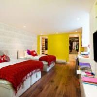 прямоугольная комната дизайн интерьера