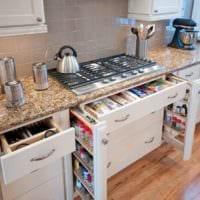 прямоугольная кухня дизайн идеи