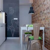 прямоугольная кухня фото идеи