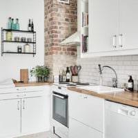 прямоугольная кухня фото офомрление
