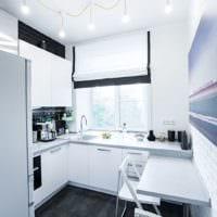 прямоугольная кухня фото вариантов