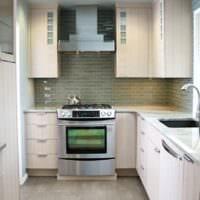 прямоугольная кухня идеи интерьера