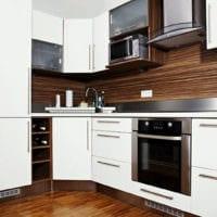 прямоугольная кухня идеи оформления
