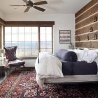 прямоугольная спальня 16 кв м дизайн